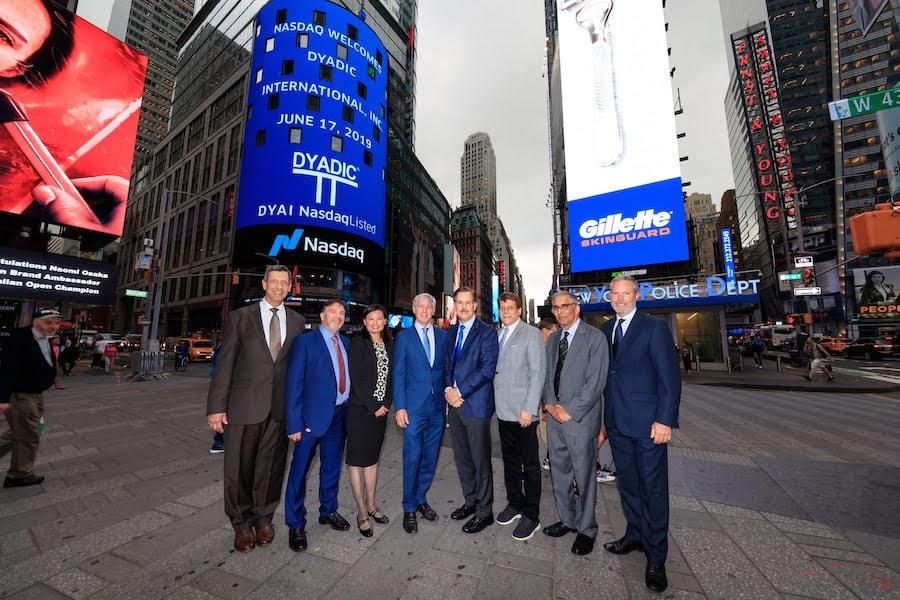 Dyadic International now on NASDAQ1