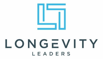 Longevity Logo Blue Black