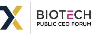 Biotech Public CEO Forum Logo