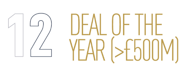 Deal Of The Year over £500m