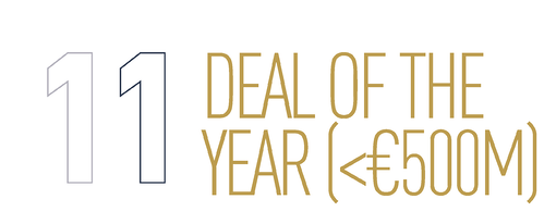 Deal of the Year <€500m