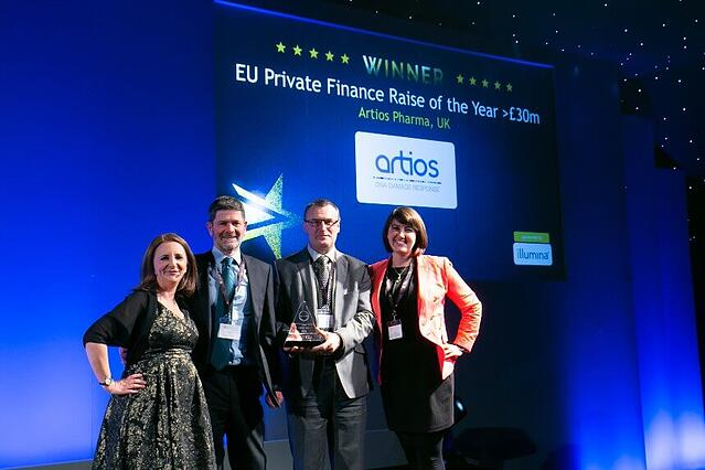 EU Private Finance Raise of the Year -30m
