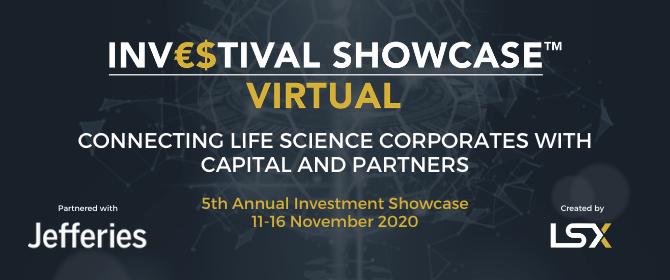 Investment Showcase, 11-16 November 2020, Delivered Virtually