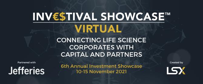 Investment Showcase, 10-15 November 2021, Delivered Virtually