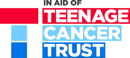 Teenage Cancer Trust  in aid of logo cmyk_0
