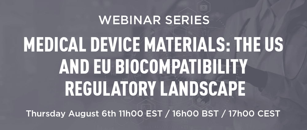 Medical Device Materials: The US and EU Biocompatibility Regulatory Landscape